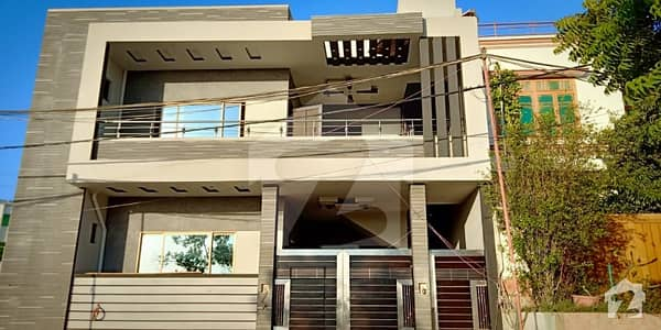 Stylish & Beautiful park facing Looking  Double Story Bungalow For Sale,
