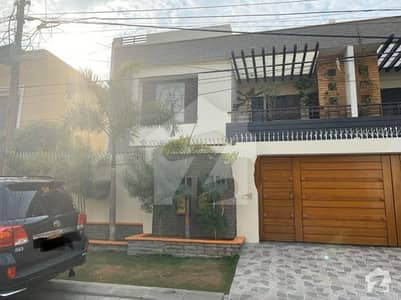 Defence 300 Yards Extraordinary Bungalow With Full Basement For Sale