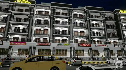 Sky Mall  Residency Smart Homes Apartment For Sale In Bahria Enclave Islamabad