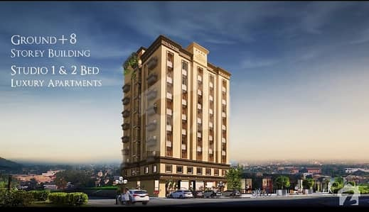 You'll Fall In Love After Visiting The Grande, Great Opportunity To Avail 1 Bed Apartment With Rs. 39000 Monthly Divided In Bahria Town Phase 7