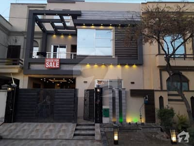 5 Marla Brand New House For Sale In Umar Block Sector B Bahria Town Lahore