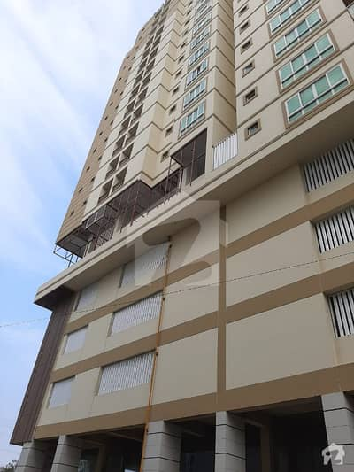 3 bedrooms brand new 1800sqft apartment in one of the prime locations of karachi