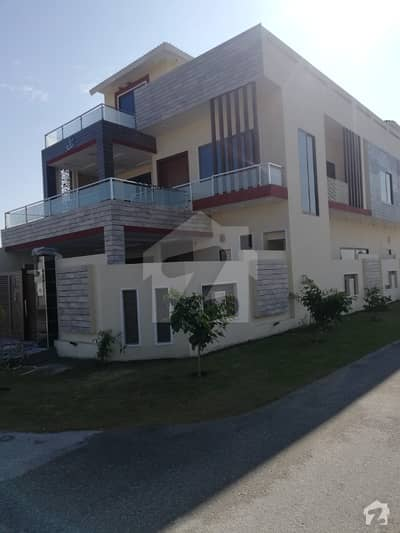 10 Marla brand new corner triple story house available for sale