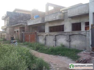 40x44 size house structure on a very prime location near PSO pump Abdullah Gardens