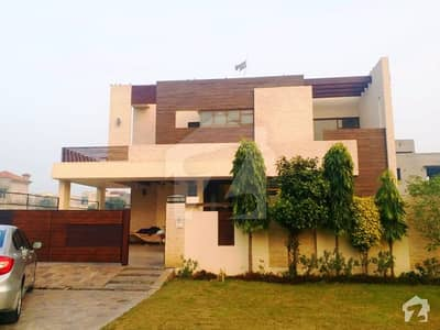 Fully Basement 1 Kanal Brand New Modern Design Bungalow For Sale