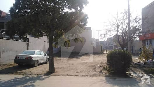 17 Marla Corner Plot For Sale On Main Boulevard Park Arab Lahore