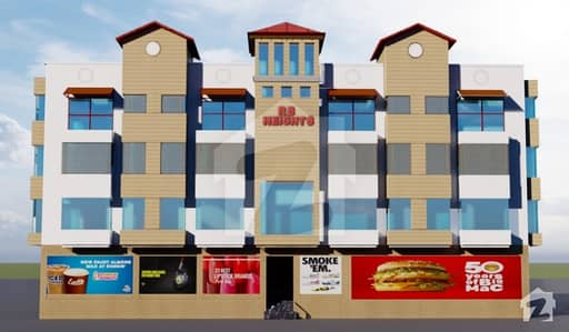 Two bed Luxury Appartment for Sale two years easy installments Down payment 30% R. B HEIGHTS Sec F DHA 1 Islamabad