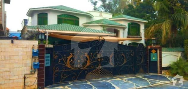 2 Kanal Faisal Rasool Spanish Designed Furnished Bungalow For Sale Hot Location