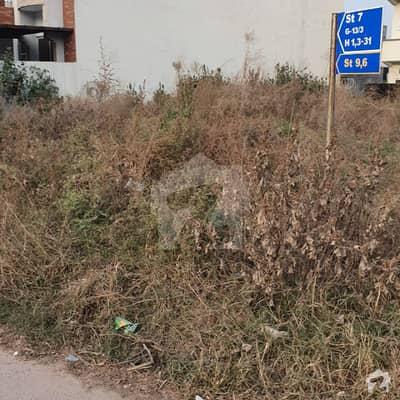 جی ۔ 13/3 جی ۔ 13 اسلام آباد میں 11 مرلہ رہائشی پلاٹ 2.3 کروڑ میں برائے فروخت۔