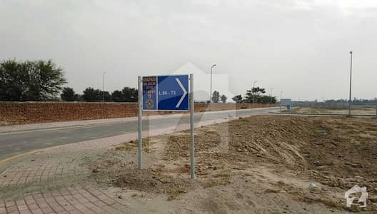 Rightly located residential plot in Bahria Town Lahore for right investors