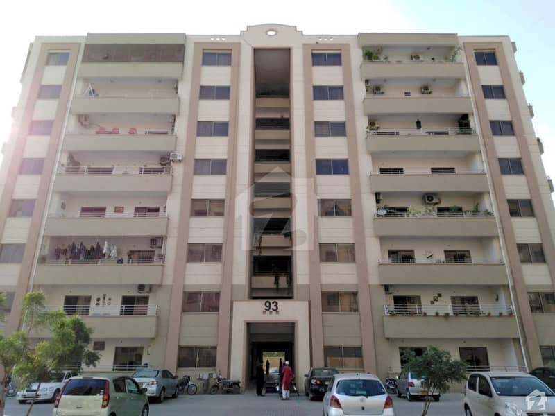 4 Bedrooms Flat Is Available For Rent In Ground Plus 9 Floors Building