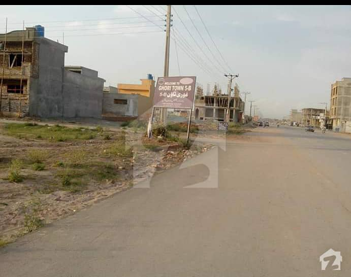 5 Marla Residential  Plot For Sale Ghauri Town Phase 8