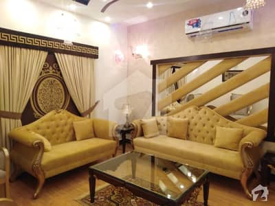 10 Marla Brand New Fully Luxury Furnished House Ideal Location For Rent In Bahria Town Lahore