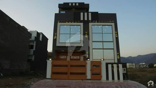 Brand New Designer Double Storey House Is Available For Sale In D123 Islamabad