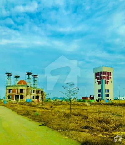 One Kanal Road Level Ideal Plot For Sale