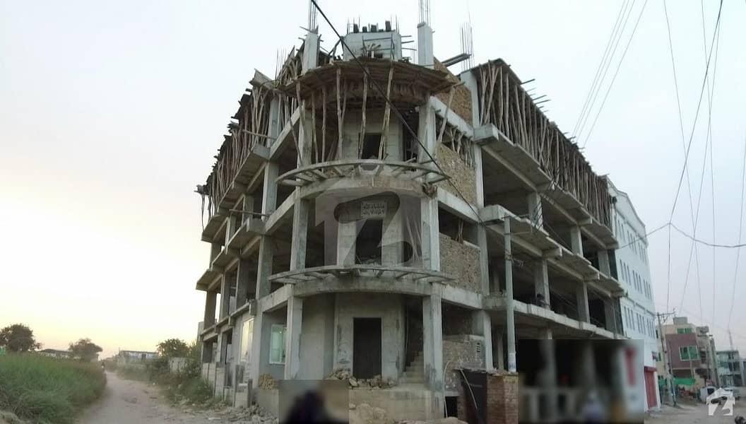 ایچ ۔ 13 اسلام آباد میں 4 مرلہ فلیٹ 51.5 لاکھ میں برائے فروخت۔