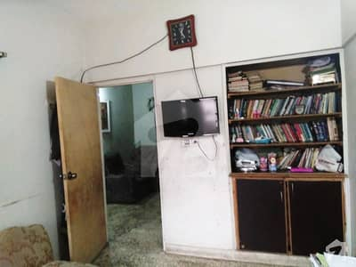 2 Bed Lounge Fully Furnished Flat Is For Sale On Main University Road Karachi