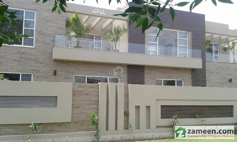 1 Kanal Brand New Luxury House With 2 Kanal Front Look Dha