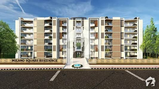 Flat Is Available For SaleMilano Square Residence
