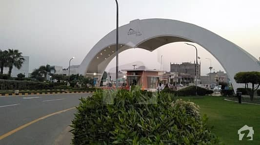 Central Park  Block A 8 Marla Plot On Main Boulevard Central Park Lahore