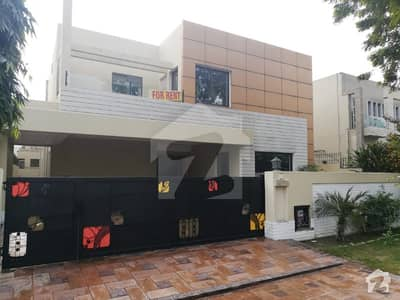 1 Kanal Brand New Bungalow for Rent in DHA Phase 5 H Block