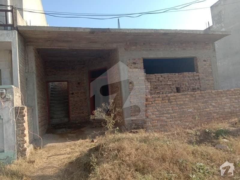 5 Marla Under Construction Single Storey House For Sale I-14/2