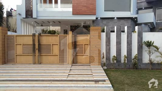 16 Marla Brand New Double Storey House Is Available For Sale In Johar Town Phase 1 Block C Lahore