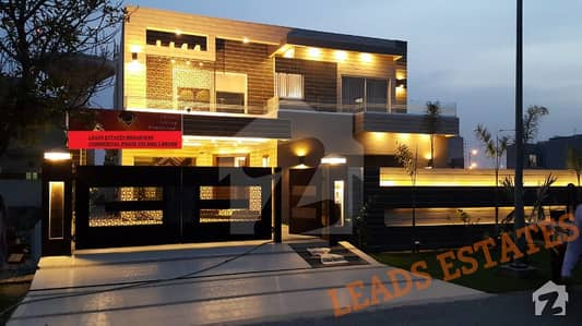 DHA Lahore 1 Kanal Brand New Unique Design Bungalow In Phase 6 Near By Community Club Park and Market