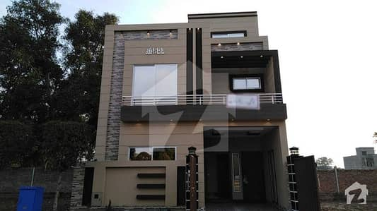 5 Marla Brand New House For Sale In C Block Of Dream Garden Phase 1 Lahore