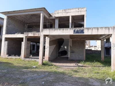 Grey structure of Exclusive Villa in Bahria Town Garden City zone 1 available for sale