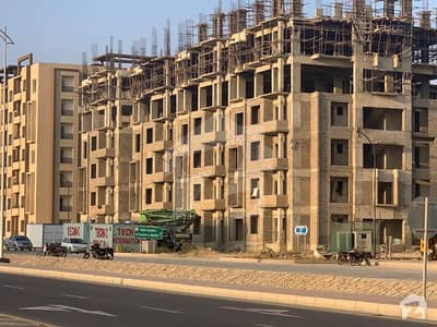2 Bed Apartment For Sale Near To Main Gate  Fully Ventilated Apartment  6th Floor  West open