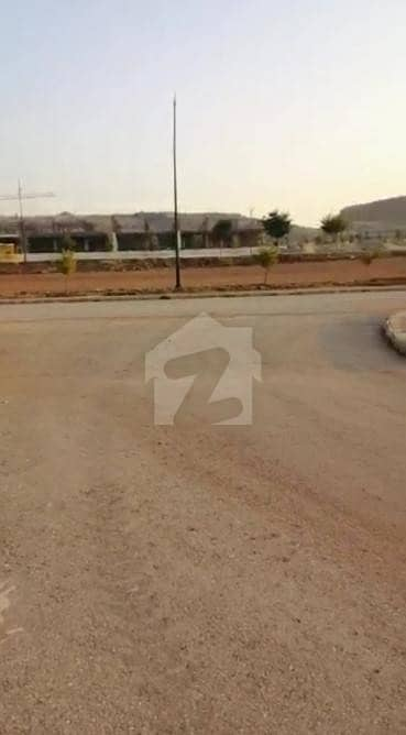 Sector M, Parkface, Backopen & Developed With Possession, Kanal Plot For Sale In Bahria Enclave Islamabad