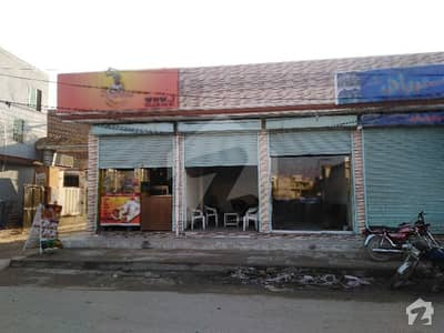 1210 Sq Feet Commercial 6 Shops Are Available For Sale In Asad Park Sargodha