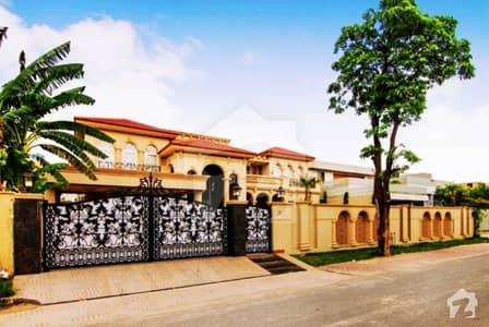 Syed Brothers Fully Furnished 2 Kanal Spanish Design Bungalow For Sale Near To Dha Defence Club Lahore