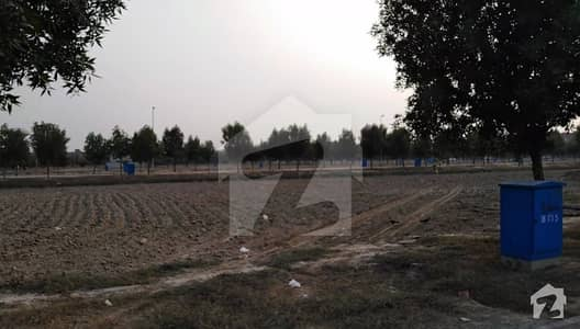 Fully Developed 8 Marla Residential Plot For Sale In D Block Bahria Orchard Lahore