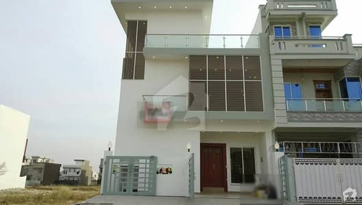 Brand New 3 Story With Besment House Is Available For Sale In D-12/1 Islamabad