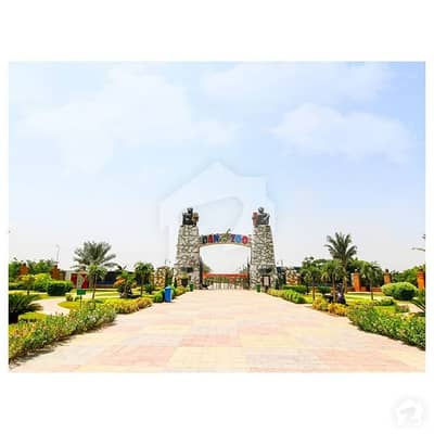 Near to Mosque 8 Marla Residential Plot for Sale in C Block Bahria Orchard