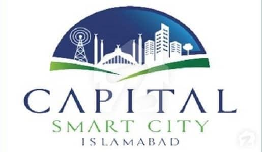 1 kanal Plot in Capital Smart City Islamabad Overseas Block on Installment