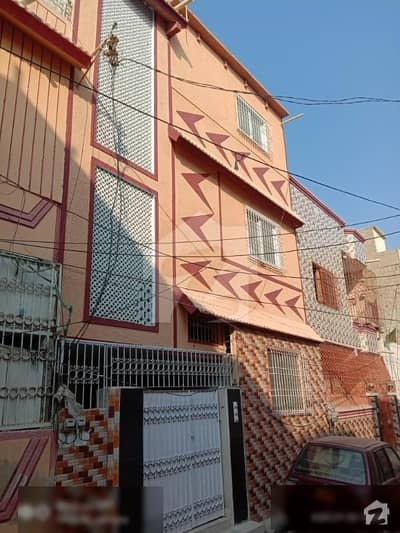North Karachi Sector 5 L ground plus 2 fully renovated