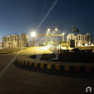 10 Marla Commercial Plot in Blue World City Islamabad Overseas Block on Installment
