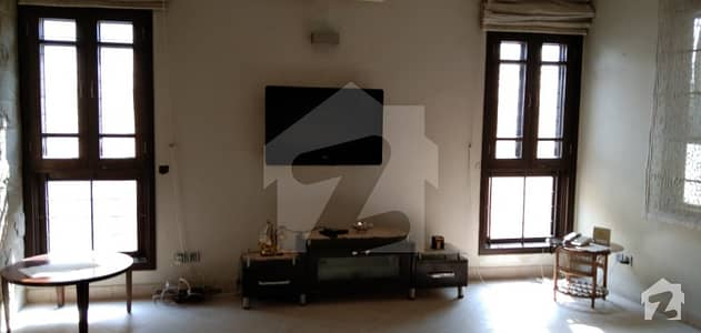 Dha 500 yard with full basement teatre room Sami furnished rent