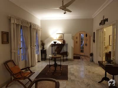700 Yards Furnished British Design Bungalow For Rent