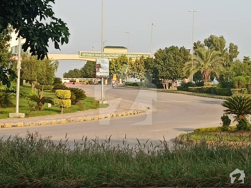 1 Kanal Plot For Sale In Dha Phase 5 Sector C Islamabad