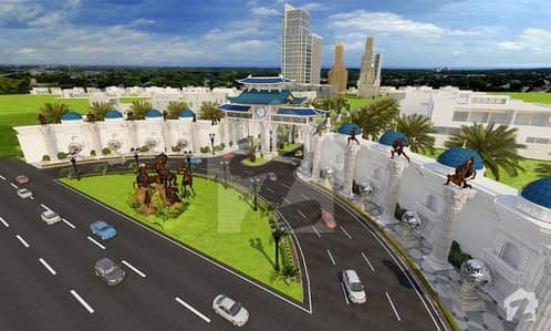 Plot File For Sale In Blue World City Overseas Block Fresh Booking