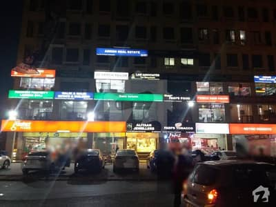 1st FLOOR SHOP AVAILABLE FOR SALE IN OVERSEAS A BAHRIA TOWN LAHORE