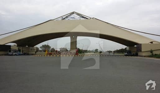 8 Marla Facing Park Commercial Plot Available For Sale On Reasonable Demand
