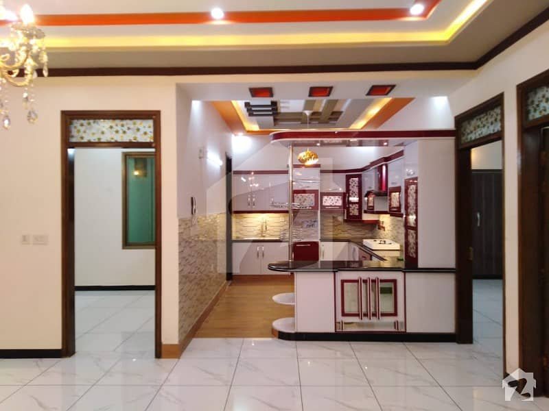 Brand Newly Owner Build Double Storey Extra Ordinary Architect Designed 240 Sq Yard Bungalow For Sale
