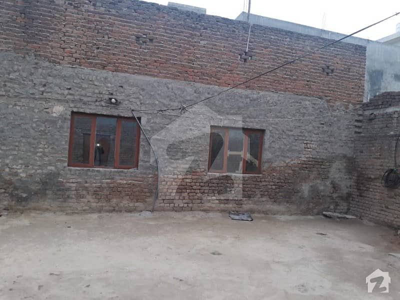 5 Marla Single Story House With 5 Marla Plot For Sale