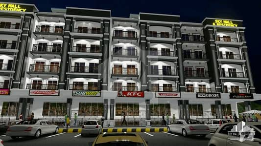 Sky Mall Residency Smart Homes Apartment For Sale in Bahria Enclave Islambad