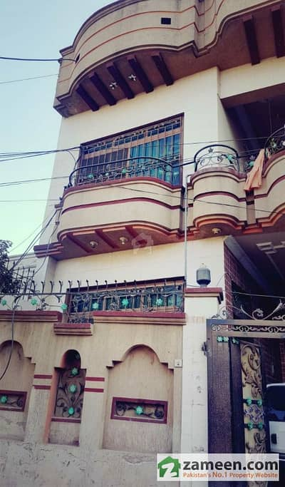 5 Marla Triple Storey House With Basement For Sale
